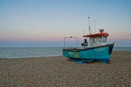 Silver Harvest on Aldeburgh Beach