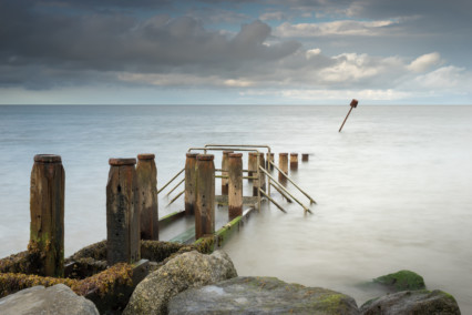 Corton Beach- Sea Groyne