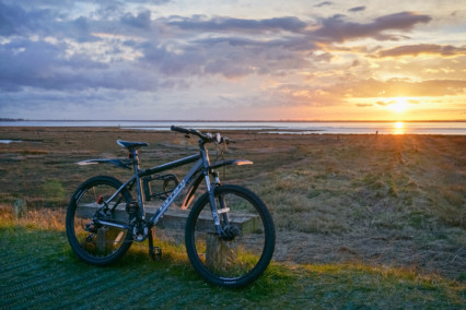 Cycling Breydon Water