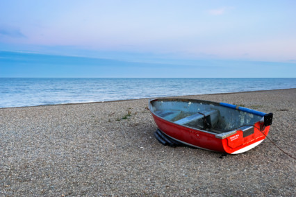 Thelma Boat on Dunwich Beach
