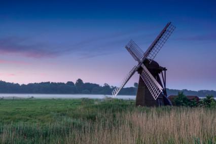 Herringfleet Windpump Mist