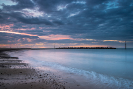 Sea Palling at Sunset