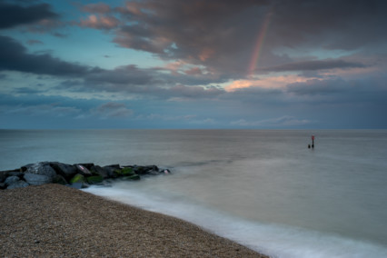 Southwold Beach Rainbow
