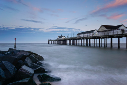 Southwold Pier at Dusk