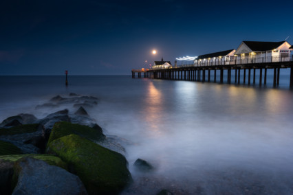 Southwold Pier Moonlight