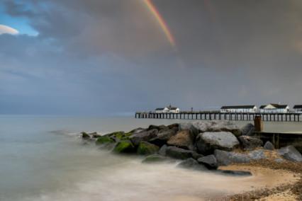 Southwold Pier Rainbow