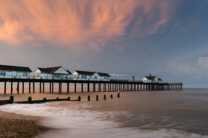 Southwold Pier at Sunset