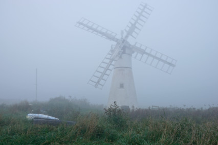Thurne Windpump Fog