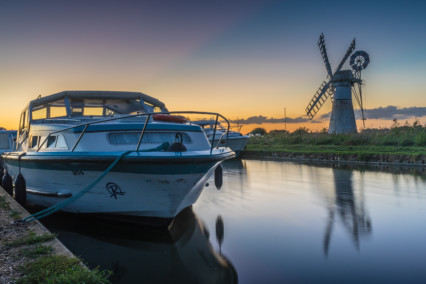 Thurne Windpump Reflection