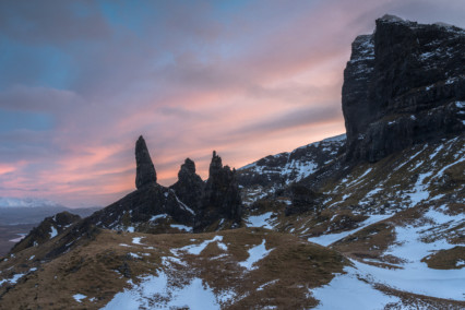 The Old Man of Storr at sunset