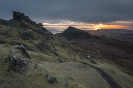 The Quiraing at sunrise