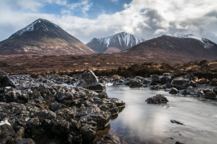 Red Cuillin Mountains