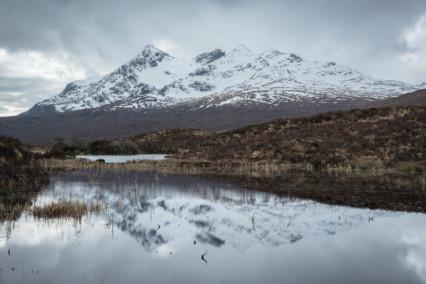 Reflections of Sgùrr nan Gillean