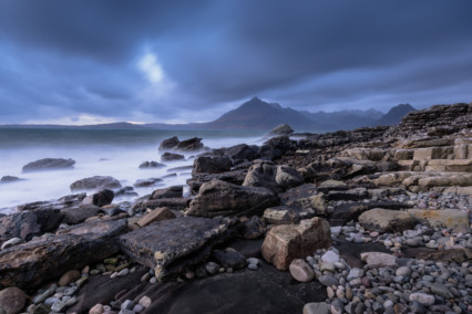 Elgol looking towards Soay and Sgurr Alasdair, Isle of Skye