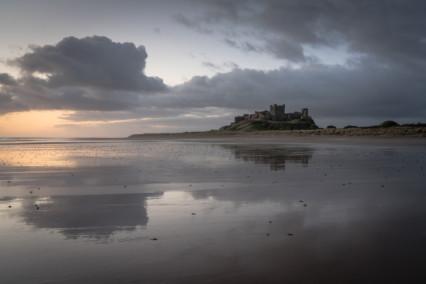 Banburgh Castle Before Sunrise