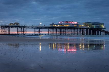 Cromer Pier at Twilight