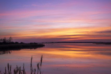 Horsey Mere at Sunset