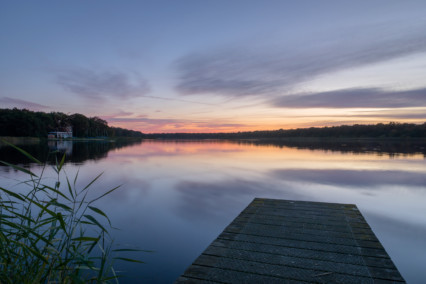 Rollesby Broad at Sunset